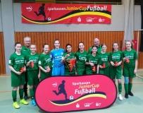 C-Juniorinnen des SV Alberweiler sind württembergischer Hallenmeister