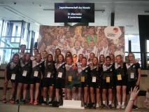 SV Alberweiler B-Juniorinnen – Jugendmannschaft des Monats August 2017 – Ausstellung der Mannschaft im Deutschen Fussballmuseum in Dortmund