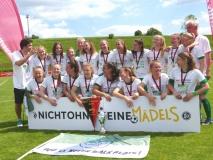 SVA B-Juniorinnen mit fünftem wfv-Pokalsieg in Folge