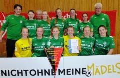 SV Alberweiler B-Juniorinnen zum fünften Mal in Folge wfv-Futsal-Meister