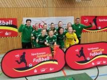 B-Juniorinnen des SV Alberweiler sind württembergischer Hallenmeister