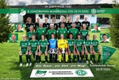 B-Juniorinnen des SVA sind Süddeutscher Meister der Saison 2019/2020