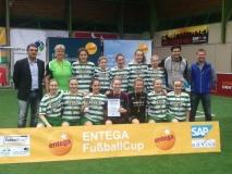 SVA mit zweitem Platz beim Entega-Cup